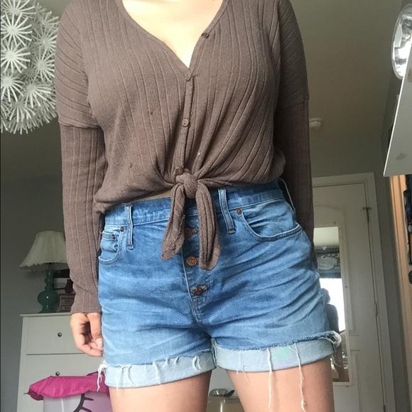Madewell Pants - Madewell Denim shorts
